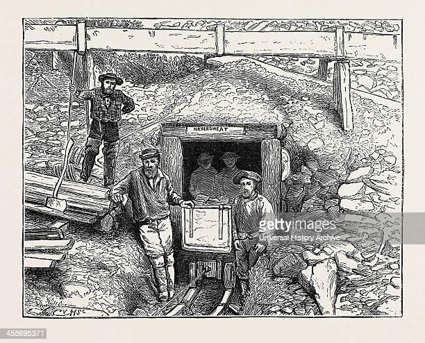 Mining Tunnel Williams' Creek Cariboo British Columbia