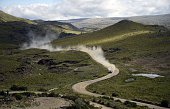Mini's driver Krzysztof Holowczyc of Poland and codriver Xavier Panseri of France compete during the stage 2 of the Dakar 2015 between Carlos Paz and...