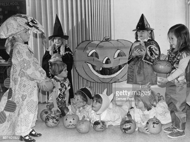 Minisized witches goblins and other assorted characters got an early taste of Halloween fun at the EnglewoodLittletonSheridan preschool classes that...
