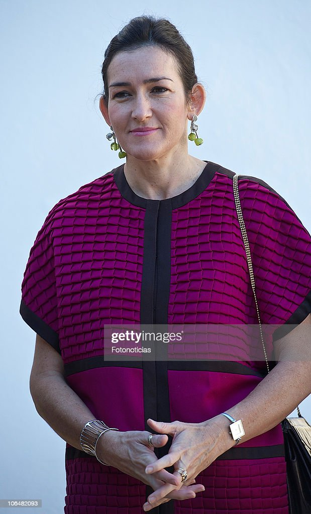 Minister Angeles Gonzalez Sinde attends Fine Arts Gold Medals ceremony at the Atalaya Museum on November 3 2010 in Jerez de la Frontera Spain