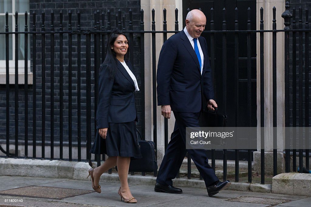 Members Of The Cabinet Arrive For First Meeting Since EU Referendum Date Set
