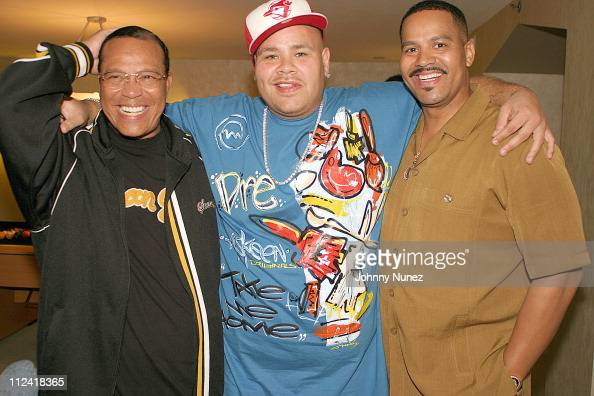 Minister Louis Farrakhan Fat Joe...