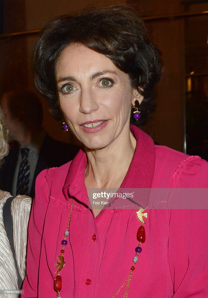 Minister Marisol Touraine attends the 20th 'Gala Pour L'Espoir' At the Theatre du Chatelet on November 12, 2012 in Paris, France.