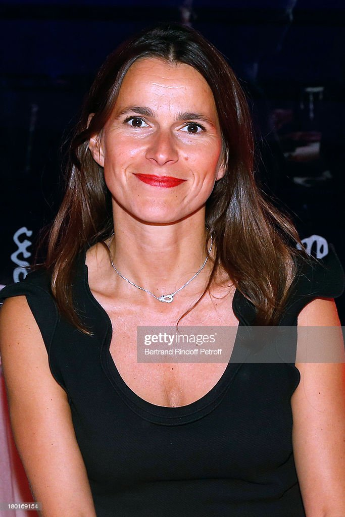 Minister of Culture and Communication Aurelie Filippetti attends 'Friends of Quai Branly Museum Society' dinner party at Musee du Quai Branly on September 9, 2013 in Paris, France.