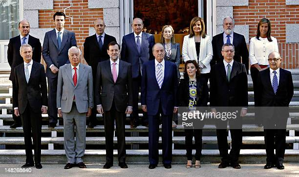 Minister of Economy and Competitiveness Luis de Guindos Minister of Industry Energy and Tourism Jose Manuel Soria Minister of Education Culture and...