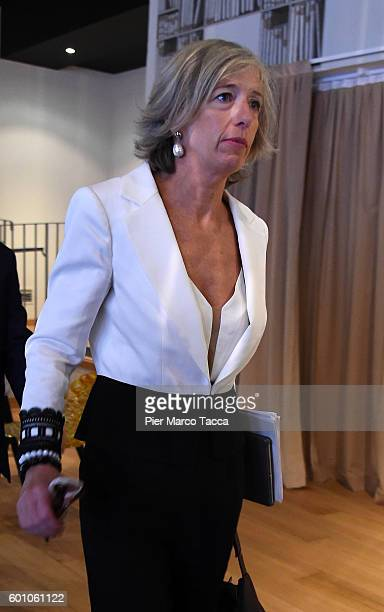 Minister of Education Universities and Research Stefania Giannini attends the 'Il Tempo Delle Donne' Festival on September 9 2016 in Milan Italy