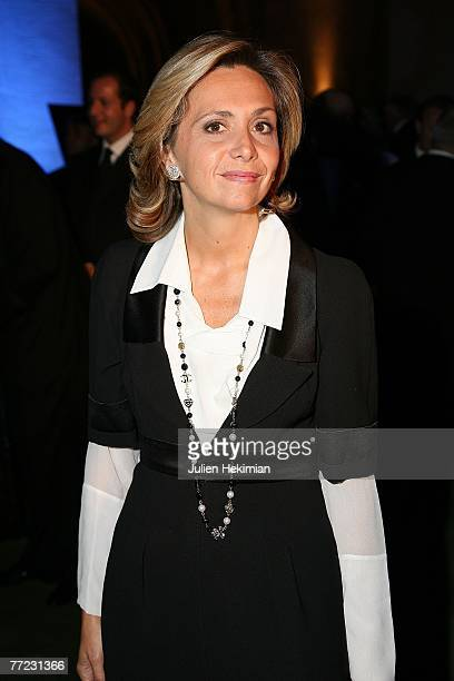 Minister of Higher Education Valerie Pecresse attends the Fondation Pour L'Enfance Ball at the Palais de Versailles October 8 2007 in Versailles...