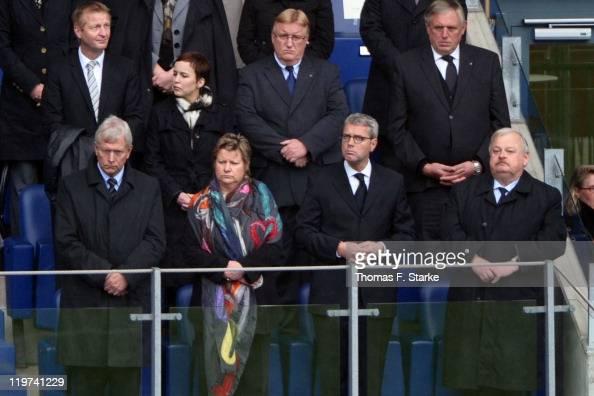 Minister of Interior of NordrheinWestphalia Ralf Jaeger Sylvia Loehrmann substitutionally Govenor of the German state of NordrheinWestphalia German...