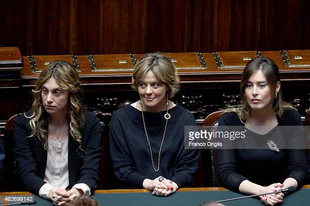 Minister of Public Administration and Simplification Marianna Madia Italian Minister of Health Beatrice Lorenzin and Constitutional Reform and...