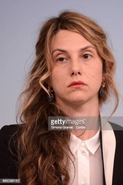 Minister of Public Administration Marianna Madia during the press conference at Palazzo Chigi on May 19 2017 in Rome Italy The cabinet meeting...