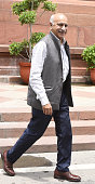 Minister of State for External Affairs MJ Akbar during the Parliament Monsoon Session on July 18 2016 in New Delhi India A total of 25 bills...