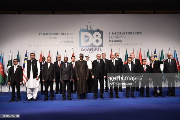 Minister of State for Foreign Affairs of Bangladesh Mohammed Shahriar Alam Prime Minister of Pakistan Shahid Khaqan Abbasi Iranian First Deputy...