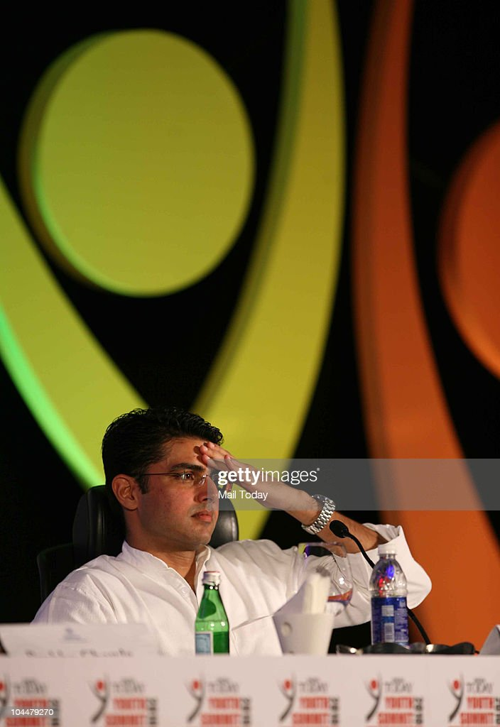Minister of state for IT and communications <a gi-track='captionPersonalityLinkClicked' href=/galleries/search?phrase=Sachin+Pilot&family=editorial&specificpeople=5839798 ng-click='$event.stopPropagation()'>Sachin Pilot</a> at the India Today Youth Summit 2010 in New Delhi on September 25, 2010.
