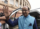 Minister of Youth Affairs and Sports Vijay Goel during the Parliament Monsoon Session on July 18 2016 in New Delhi India A total of 25 bills...