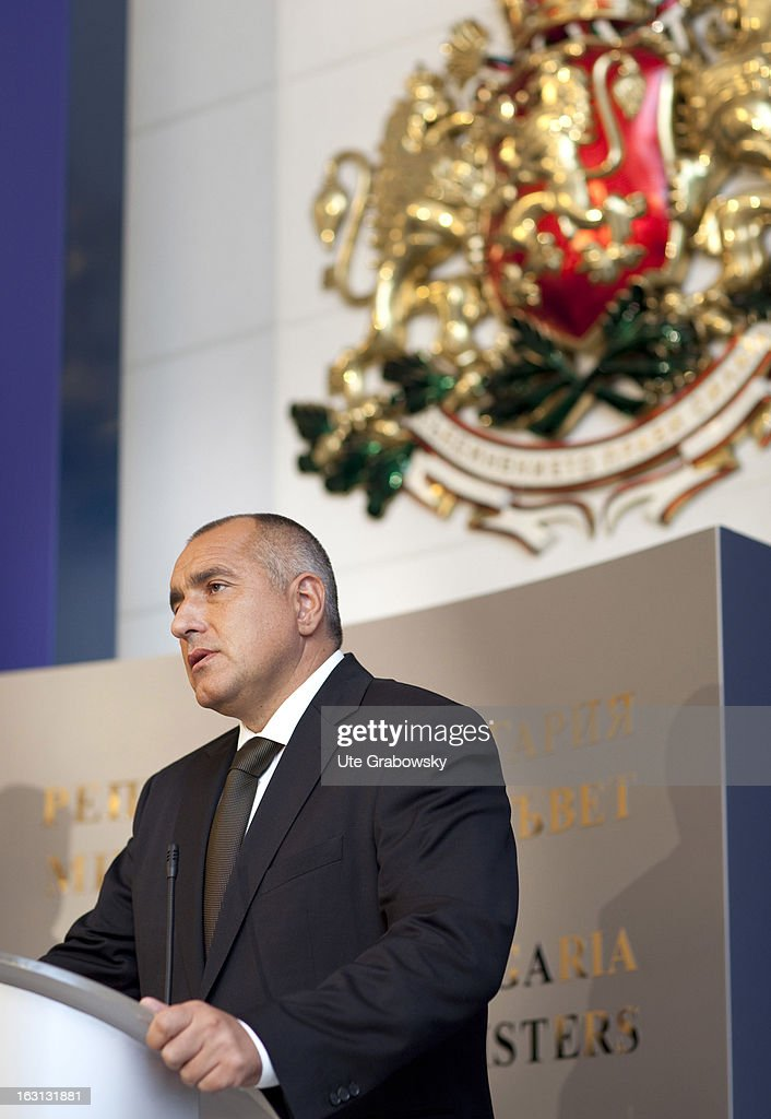 Minister President of the Republic of Bulgaria <a gi-track='captionPersonalityLinkClicked' href=/galleries/search?phrase=Boyko+Borisov&family=editorial&specificpeople=5906164 ng-click='$event.stopPropagation()'>Boyko Borisov</a>.
