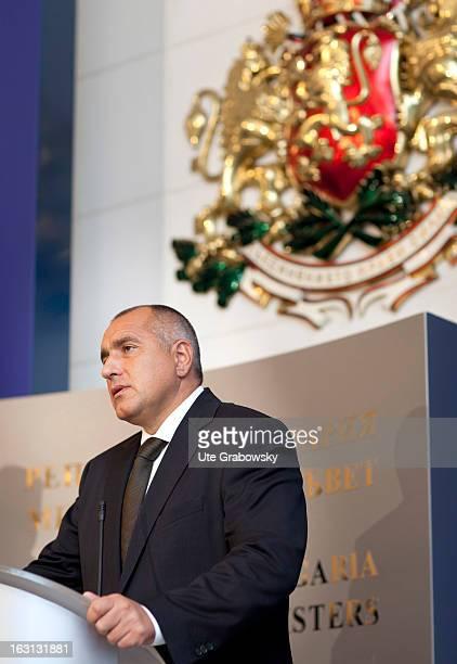 Minister President of the Republic of Bulgaria Boyko Borisov
