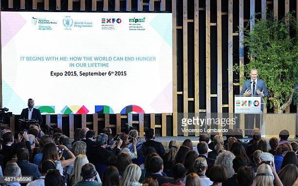 Minister Simon Coveney attends the event 'It begins with me How the world can end hunger in our lifetime' organised by Italy and Ireland to sustain...