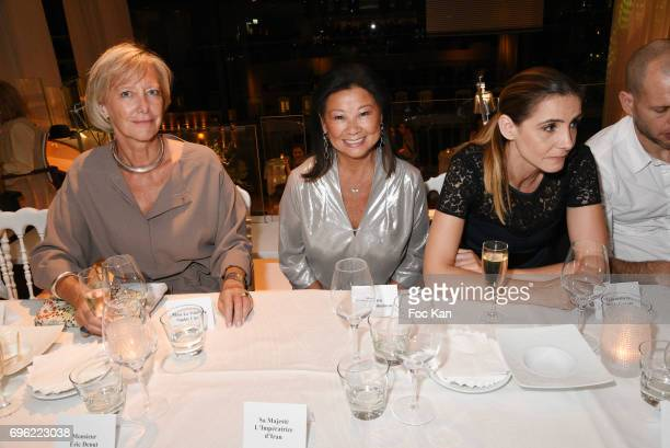 Minister Sophie Cluzel Jeanne dÕHauteserre and Clotilde Courau attend Amnesty International 'Musique Contre L'Oubli' Gala Ceremony after Dinner at...