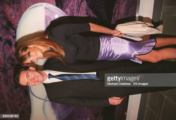 Minister Without Portfolio Peter Mandelson poses with Supermodel Elle Macpherson at the Serpentine Gallery Summer Party Mandelson resigned from the...