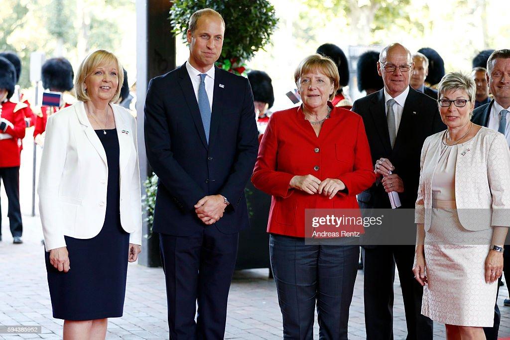 The Duke Of Cambridge Visits Germany