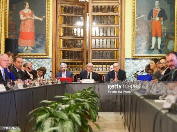 Ministers of Foreign Affairs from Argentina Brazil Canada Chile Colombia Costa Rica Grenada Guatemala Guyana Honduras Jamaica Mexico Panama Santa...