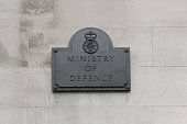 Plaque on the MoD building in London