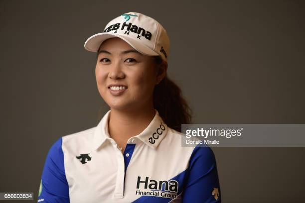Minjee Lee of Australia poses for a portrait at the Park Hyatt Aviara Resort on March 21 2017 in Carlsbad California