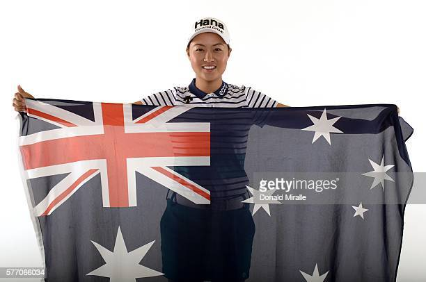 Minjee Lee poses for a portrait during the KIA Classic at the Park Hyatt Aviara Resort on March 23 2016 in Carlsbad California