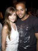 Minka Kelly and Donald Faison during GPhoria 2005 The Mother of All Videogame Award Shows Inside at Los Angeles Center Studios in Los Angeles...