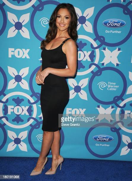 Minka Kelly arrives at the 2013 Fox Fall EcoCasino Party at The Bungalow on September 9 2013 in Santa Monica California