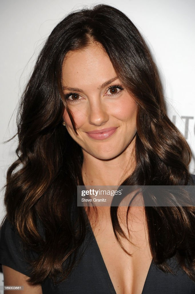 Minka Kelly arrives at the The Beverly Hilton Unveils Redesigned Aqua Star Pool By Estee Stanley at The Beverly Hilton Hotel on May 22, 2013 in Beverly Hills, California.