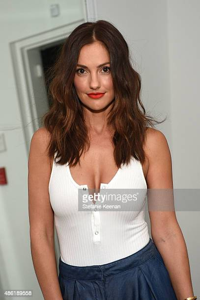 Minka Kelly attends The A List 15th Anniversary Party on September 1 2015 in Beverly Hills California