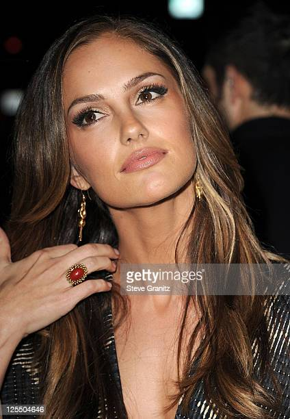 MInka Kelly attends the 'Country Strong' Los Angeles Special Screening at the Academy of Motion Picture Arts and Sciences on December 14 2010 in...