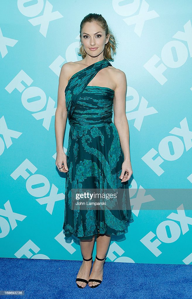 Minka kelly attends the FOX 2103 Programming Presentation Post-Party at Wollman Rink - Central Park on May 13, 2013 in New York City.