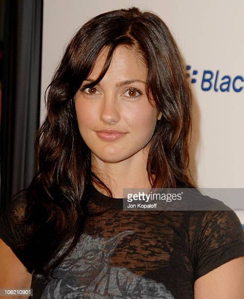 Minka Kelly during Launch Party for the new BlackBerry Curve from ATT Arrivals at Beverly Wilshire Hotel in Beverly Hills California United States