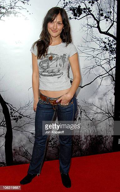 Minka Kelly during 'Premonition' Los Angeles Premiere Arrivals at Cinerama Dome in Hollywood California United States