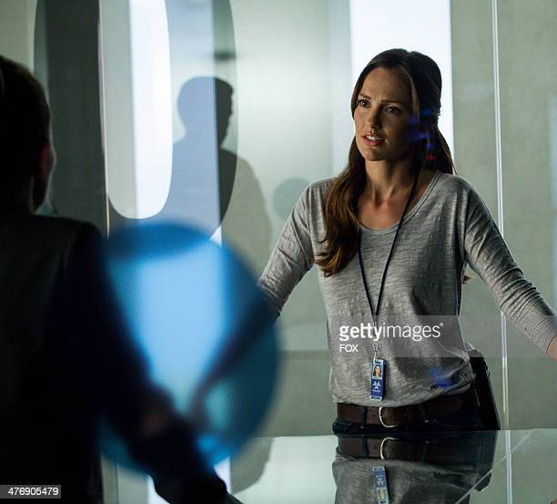 Minka Kelly in the 'Perception' episode of ALMOST HUMAN airing Monday Feb 10 2014 on FOX
