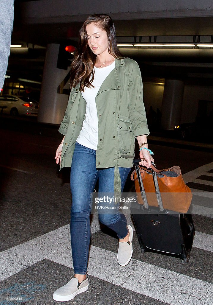 <a gi-track='captionPersonalityLinkClicked' href=/galleries/search?phrase=Minka+Kelly&family=editorial&specificpeople=632847 ng-click='$event.stopPropagation()'>Minka Kelly</a> is seen at LAX airport on January 13, 2014 in Los Angeles, California.