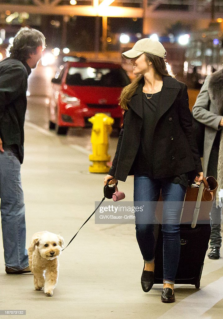 <a gi-track='captionPersonalityLinkClicked' href=/galleries/search?phrase=Minka+Kelly&family=editorial&specificpeople=632847 ng-click='$event.stopPropagation()'>Minka Kelly</a> is seen departing at LAX airport on November 05, 2013 in Los Angeles, California.