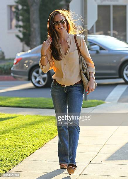 Minka Kelly is seen in Beverly Hills on February 1 2012 in Los Angeles California