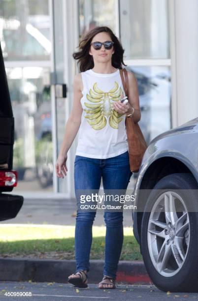Minka Kelly is seen in Bevrly Hills on June 20 2014 in Los Angeles California
