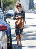 Minka Kelly is seen in Hollywood on September 22 2014 in Los Angeles California