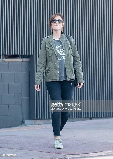 Minka Kelly is seen in Los Angeles on January 13 2015 in Los Angeles California