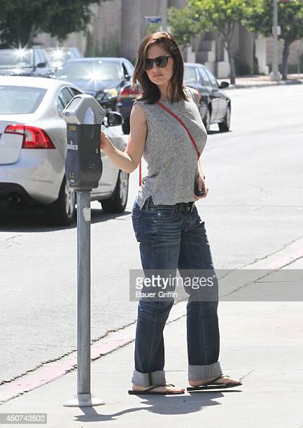 Minka Kelly is seen on June 16 2014 in Los Angeles California