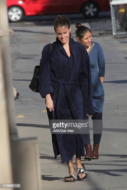 Minka Kelly is seen on March 20 2014 in Los Angeles California