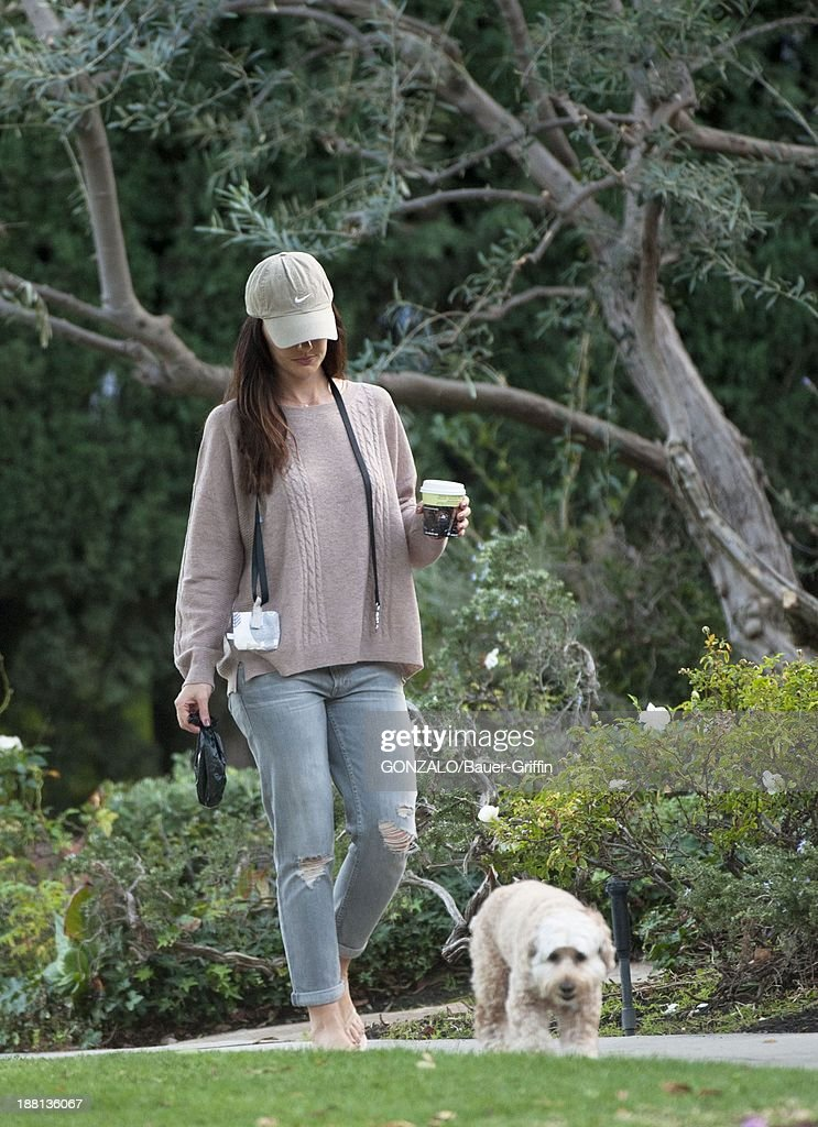 Minka Kelly is seen on November 15, 2013 in Los Angeles, California.