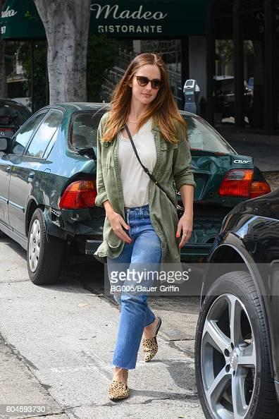 Minka Kelly is seen on September 13 2016 in Los Angeles California
