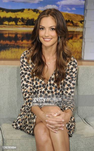 AMERICA Minka Kelly of ABC's 'Charlie's Angels' appears on 'Good Morning America' 9/22/11 airing on the ABC Television Network MINKA