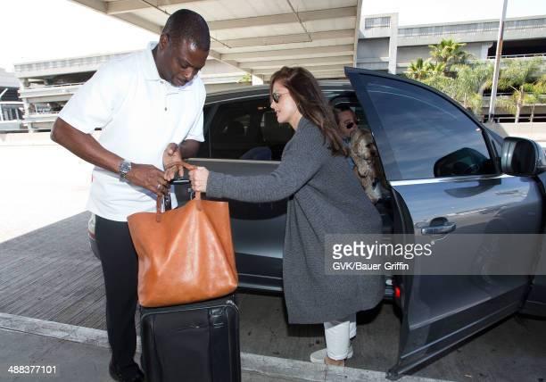 Minka Kelly seen at LAX on May 05 2014 in Los Angeles California