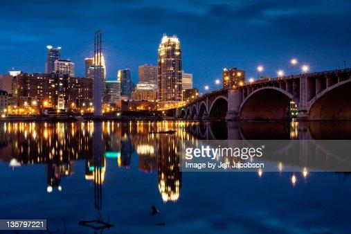 Minneapolis blue hour